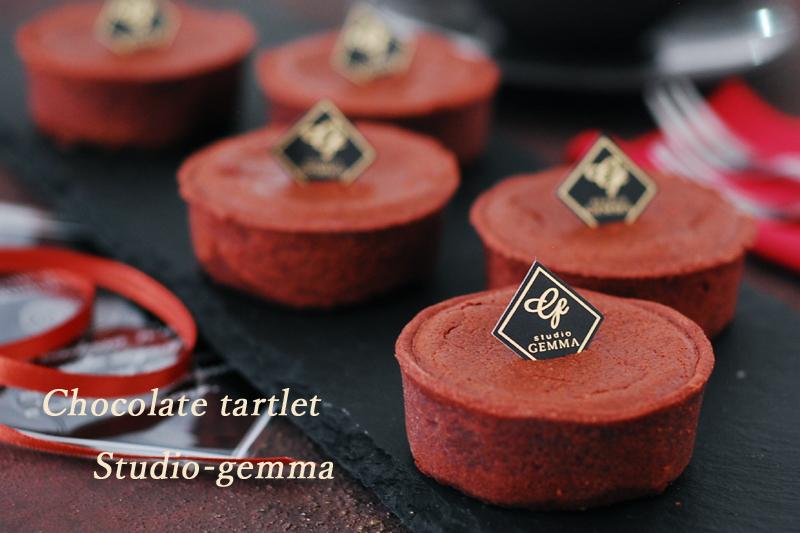 ヴァレンタイン チョコレートタルトレット